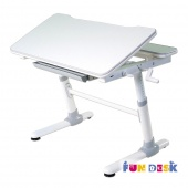 Растущая парта Fun Desk Carezza Grey